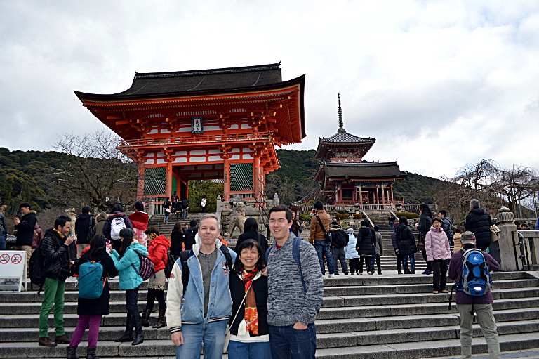 Kiyomizu Temple: Nio-mon Gate and Pagoda