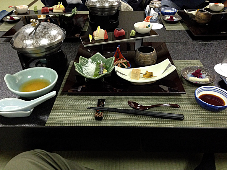 Traditional Japanese Dinner