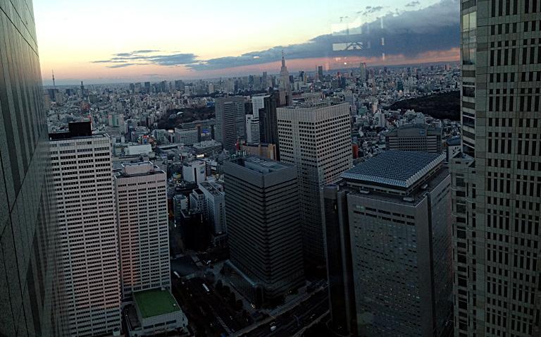Tokyo Metropolitan Government Building: Dusk
