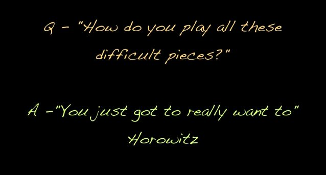 Horowitz quote