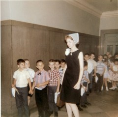 PS105 Ms Crank 1965 60s Brooklyn Public School