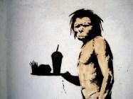 Banksy's caveman