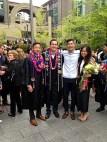 High school classmates: 3 Haas graduates, 1 UCSB grad
