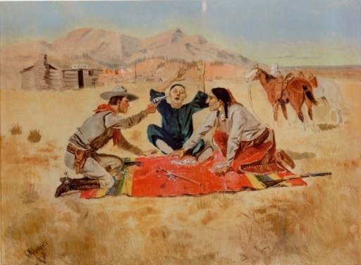 Not a Chinaman's Chance by Charles M Russell 1894