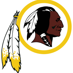 Redskins primary logo 1972-1981, 1983-present