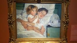 """""""Breakfast in Bed,"""" Mary Cassatt"""
