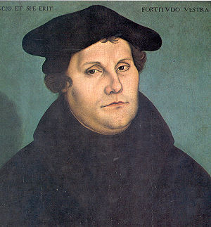 Martin Luther by Lucas Cranach. The Protestant...