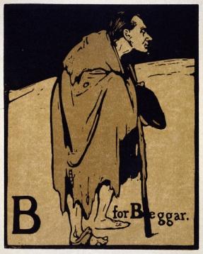 B for Beggar