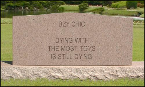 BZY CHIC tombstone