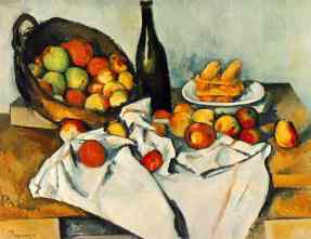 """The Basket of Apples"" by Paul Cézanne"