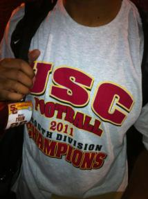 USC Pac-12 South Champions