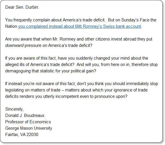 http://cafehayek.com/2012/07/open-letter-to-a-politician.html