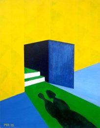 Ombre nel colore - Mattia Recupero - Acrilico su tela 40x50