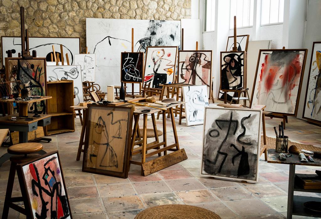 L'Atelier di Joan Mirò a Palma de Mallorca