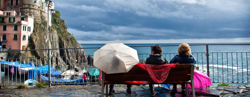 Cosa fare alle Cinque Terre quando piove