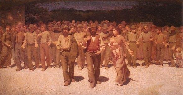 Il Quarto Stato (1901) - Pellizza da Volpedo