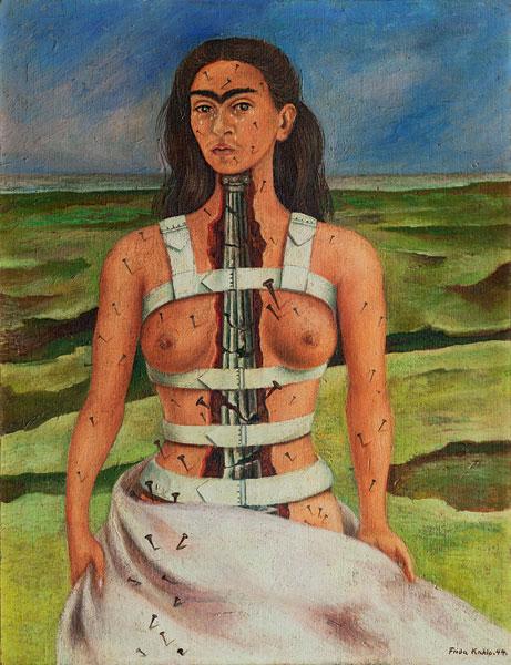 Frida Kahlo - Schiena rotta