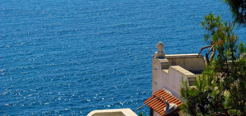 Hotel vista mare nel Salento: il panorama di Castro