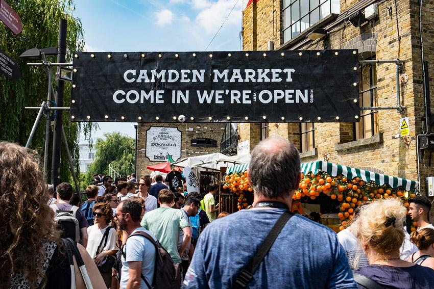 Londra Camden Market