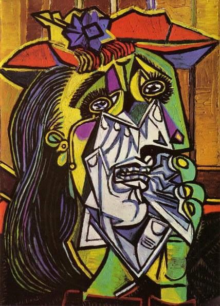 Donna che piange (1937) - Tate Modern, Londra