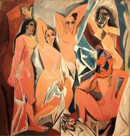 Les demoiselles d'Avignon (1907) - MoMA, New York