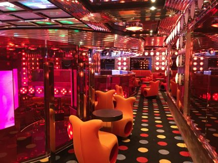 Night club - open from midnight until late