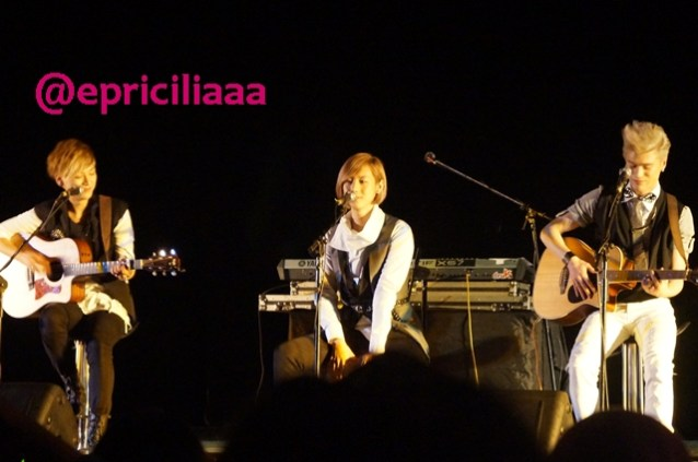 F.Y.I on stage with Lunafly, Jakarta, March 28th 2013 - Lunafly Lunafly Lunafly!