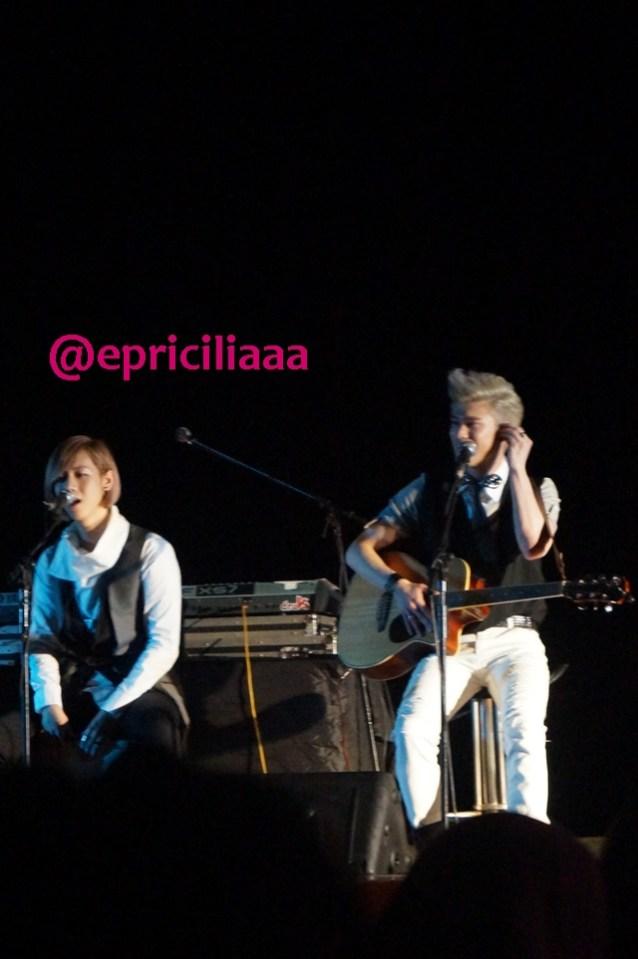 F.Y.I on stage with Lunafly, Jakarta, March 28th 2013 - Sam! <3