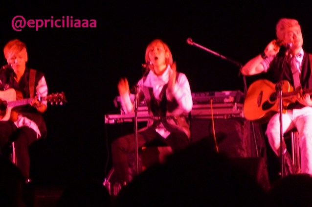F.Y.I on stage with Lunafly, Jakarta, March 28th 2013 - Teo is on fire.