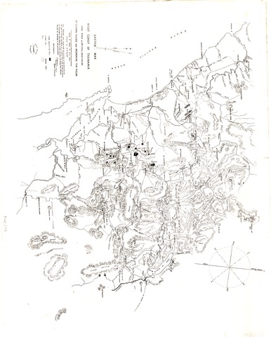 Sketch Map, West Coast of Tasmania, King River and Mt