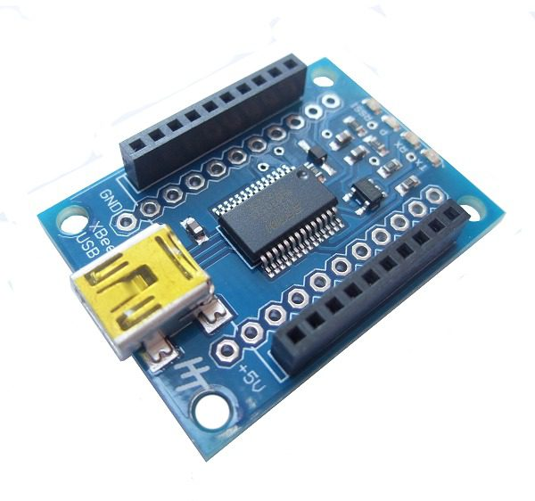Xbee-s2-explorer-Adapter-Module
