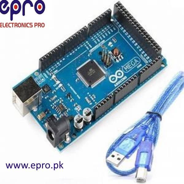 Arduino Mega R2560 R3 ATMEGA16U2 with Cable in Pakistan