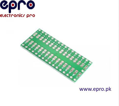 QFP32 DIP32 Adapter plate spacing of 0.8 mm