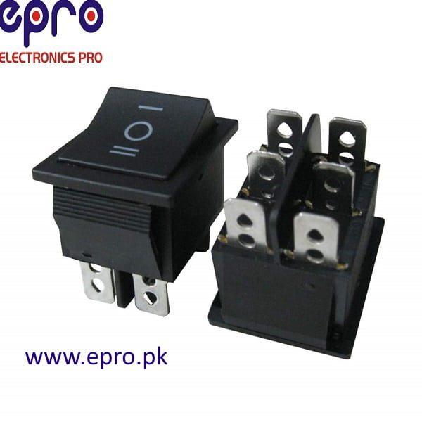 Rocker switch 6 Pins Series Parallel