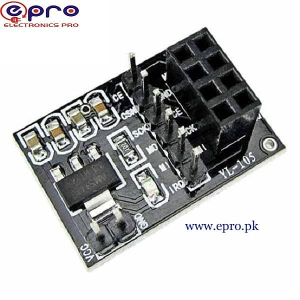 VCC Adapter Board for NRF24L01 5V 3.3V Wireless Module in Pakistan