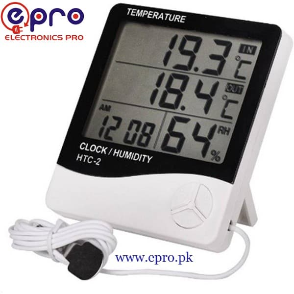 Temperature and Humidity Meter HTC-2 in Pakistan