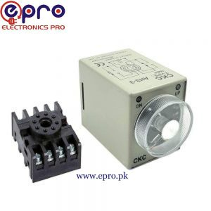 AH3-3 Timer Relay Module with Socket in Pakistan