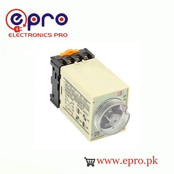 AC220V 5S 8 Terminals Adjustable Timer in Pakistan