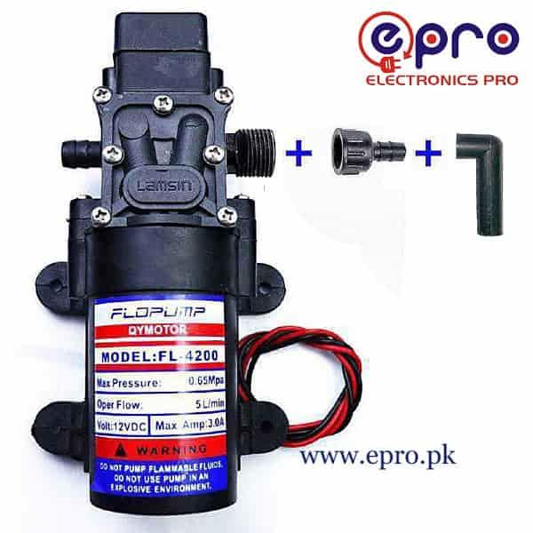 775 Motor Diaphragm Pump 12VDC in Pakistan