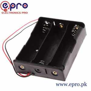 18650 Battery Holder 3 Cell in Pakistan