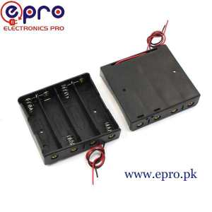 18650 Battery Holder 4 Cell in Pakistan