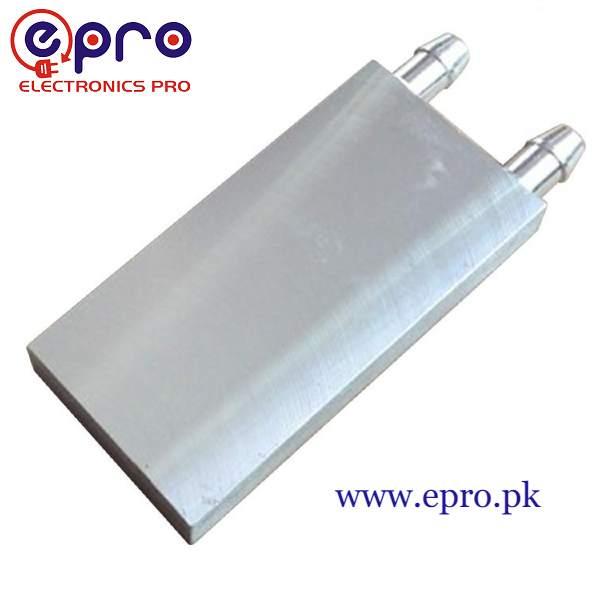 Aluminum Water Cooling Block 40x80x12mm in Pakistan
