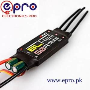 EMAX ESC 50A 2S-6S Multirotor Drone Brushless Speed Controller in Pakistan