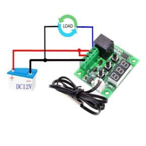 w1209 temperature controller setting