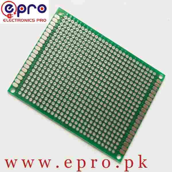 6x8 Double Sided FR4 Veroboard PCB in Pakistan