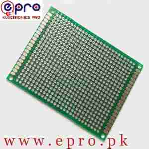 6x8 Double Sided FR4 Veroboard PCB in Pakistan