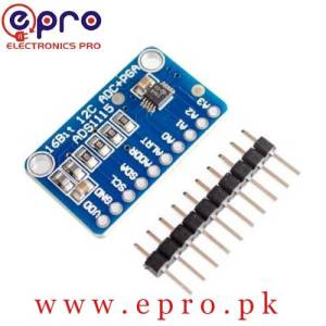 ADC ADS1115 16bit Analog to Digital Converter in Pakistan