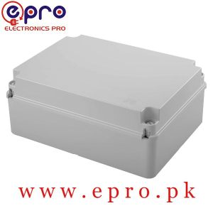 10 Inches Rectangle Adaptable PVC Junction Box 240 x 190 x 90 mm in Pakistan