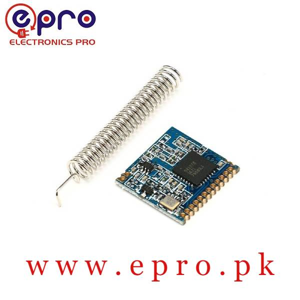 433MHZ Wireless RF Receiver Lora Module SX1278 in Pakistan