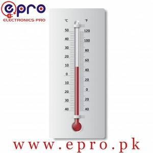 Thermometer with Both Celsius and Fahrenheit Degrees in Pakistan